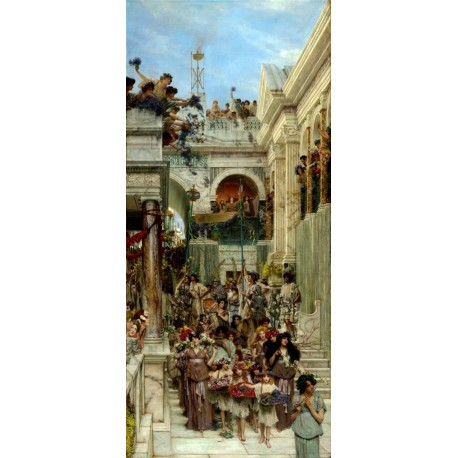 Primavera, Alma Tadema, algomasquearte