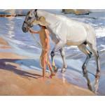 Sorolla Baño del caballo Algomasquearte