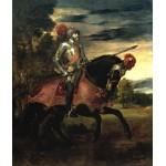 Tiziano Carlos V a caballo en Mühlberg Algomasquearte