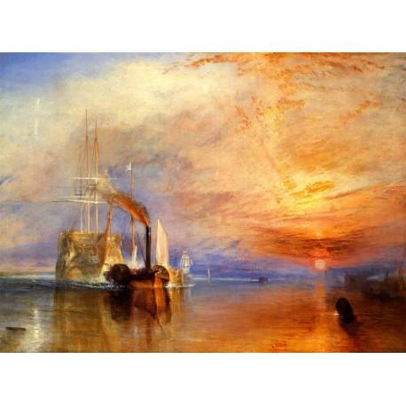 Turner El temerario remolcado a dique seco algomasquearte