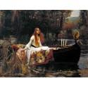 La dama de Shallot, Waterhouse