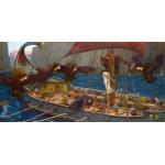Waterhouse Ulises y las Sirenas Algomasquearte