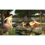 Waterhouse-Eco y Narciso-Algomasquearte