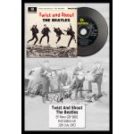 """Cuadro Disco Ep The Beatles """"Twist and Shout"""""""