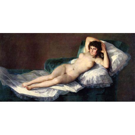 La Maja desnuda-Goya-Algomasquearte