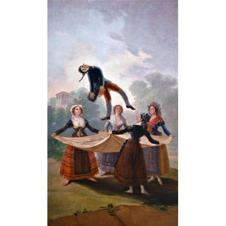 El pelele-Goya-Algomasquearte