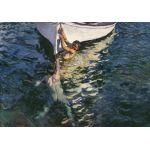 Sorolla El bote blanco Algomasquearte