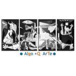 Picasso Guernica xxl Poliptico Algomasquearte