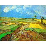 Van Gogh, Campos de trigo después de la lluvia en Auvers, Algomasquearte