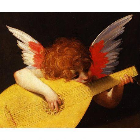 Rosso-Fiorentino-angel-musico-algomasquearte