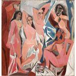 Picasso Las señoritas D'Avignon Algomasquearte