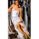 Retrato de Mme Bott, Lempicka, Algomasquearte