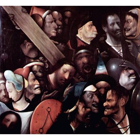Cristo portando la cruz, Bosco, algomasquearte