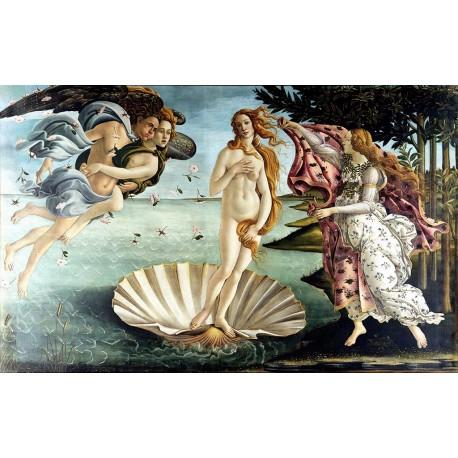 El nacimiento de Venus, Botticelli, algomasquearte