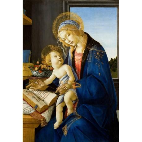 La Virgen del libro, Botticelli, Algomasquearte