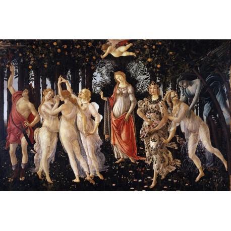 La Primavera, Botticelli, Algomasquearte