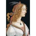 Retrato idealizado de Simonetta Vespucci como Nimfa, Botticelli
