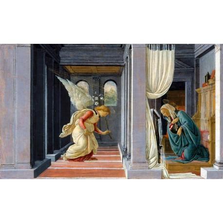 La Anunciacion, Botticelli, Algomasquearte