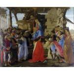 Adoracion de los Reyes Magos, Botticelli
