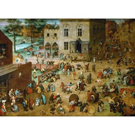 Juego de niños, Brueghel, Algomasquearte