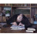 Hombre escribiendo en su estudio, Caillebotte