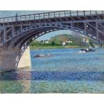 Puente de Argenteuil, Caillebotte, Algomasquearte